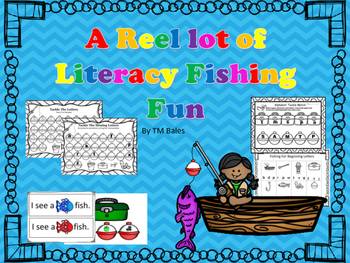 Kindergarten Reel Lot of Literacy Fun