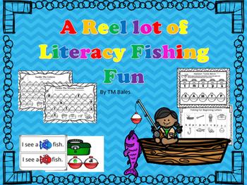Kindergarten A Reel Lot of Literacy Fun Packet