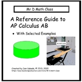 A Reference Guide to taking the AP Calculus AB Exam