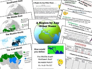 A Region by Any Other Name - The Middle East lesson plan w/ PowerPoint