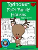A+ Reindeer: Fact Family Houses