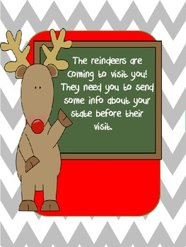 A Reindeer's Holiday - Christmas from the point of view of a reindeer.