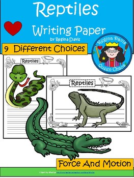 A+ Reptiles ... Writing Paper