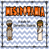 A Research Study on Mesopotamia for Elementary Students