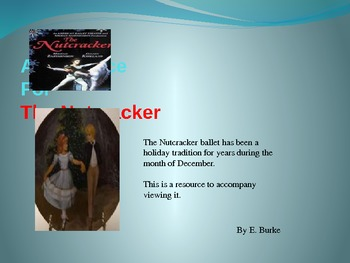 A Resource For The Nutcracker