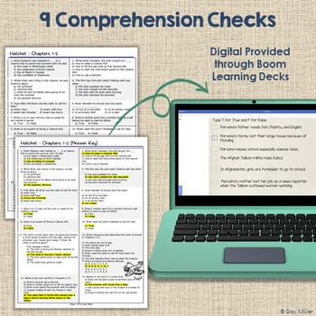 Hatchet [Gary Paulsen] Book Unit