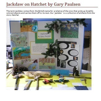 Hatchet Novel Study: Digital + Printable Book Unit: activities & quizzes