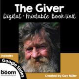 The Giver Novel Study: Digital + Printable Book Unit: Lois Lowry
