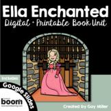 Ella Enchanted Novel Study: vocabulary, comprehension, wri