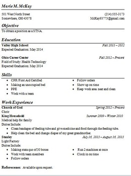 A Resource Kit for Teaching Resume Writing