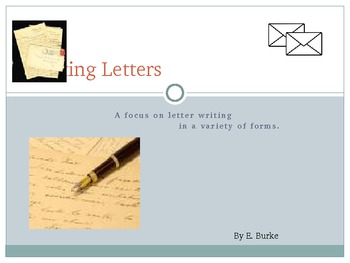 A Resource On Writing Letters