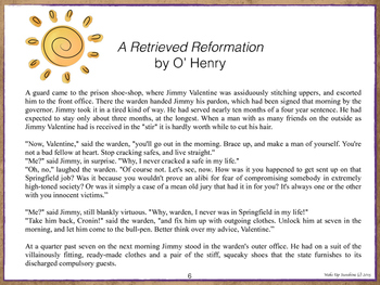 A Retrieved Reformation - A Quick Literary Study