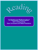 """A Retrieved Reformation""--RAFT Activity--Draw Conclusions"