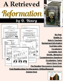 "O. Henry: ""A Retrieved Reformation"" Close Reading Study Guide"