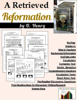A Retrieved Reformation: Study Guide for O. Henry's Story
