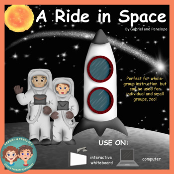 Interactive Book for Speech Therapy:  Space