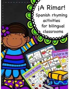 ¡A Rimar! Spanish Rhyming Activities for Primary Grades
