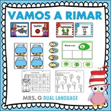A Rimar: Spanish Rhyming Activities