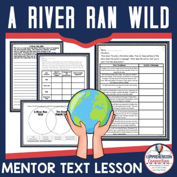 This freebie would work very well for modeling comprehension skills using the book, A River Ran Wild, as the mentor text. The skills with this set of lesson materials include: Author's Message Using text features to make predictions Making Comparisons across texts and Persuasive Writing.