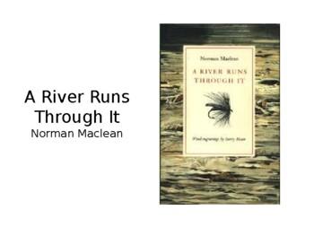 A River Runs Through It Teaching Tools