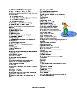 A River Runs Through It by Norman MacLean - Tests & Study Guide