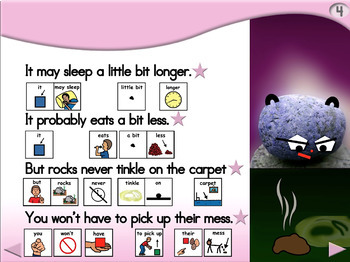 A Rock Makes an Excellent Puppy - Animated Step-by-Step Poem - PCS