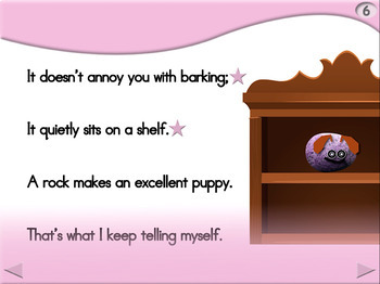 A Rock Makes an Excellent Puppy - Animated Step-by-Step Poem - Regular