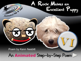 A Rock Makes an Excellent Puppy - Animated Step-by-Step Poem - VI