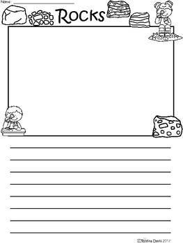 A+ Rocks ... Writing Paper