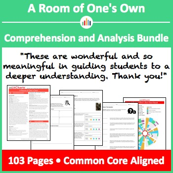 A Room of One's Own – Comprehension and Analysis Bundle