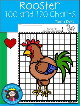 A+ Rooster: Numbers 100 and 120 Chart
