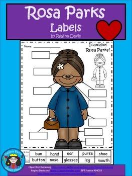 A+ Rosa Parks Labels