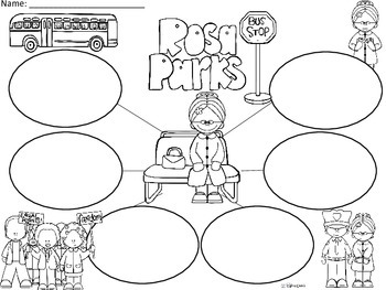 A+  Rosa Parks... Three Graphic Organizers