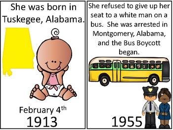 A+ Rosa Parks Timeline