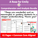 A Rose for Emily – Comprehension and Analysis Bundle