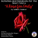 "Activities and Handouts for the Short Story ""A Rose for Emily"""