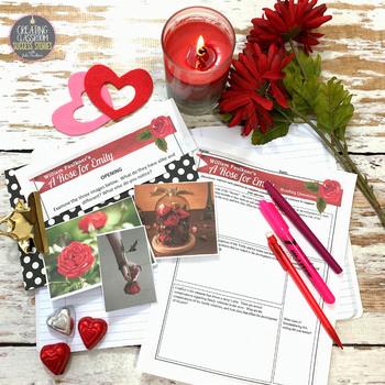 A Rose for Emily Literature Guide, Unit, Quiz, Project, Prompt, Nonfiction