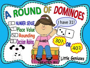 A Round of Dominoes: Place Value and Rounding Number Fun
