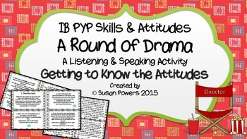 A Round of Drama Understanding the IB Attitudes Speaking and Listening Activity