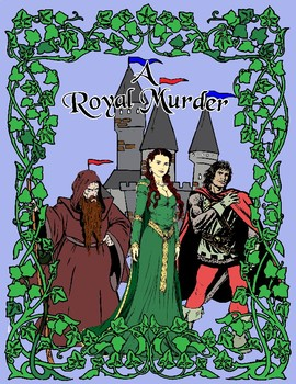 A Royal Murder: A Historical Murder Mystery Party Kit set