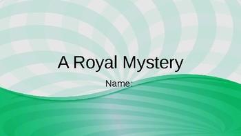 A Royal Mystery Vocab Question Slides