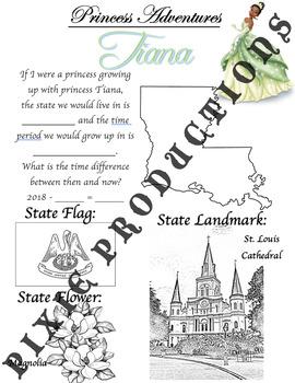 A Royal Trip Through History: Louisiana / Tiana / Clara Ward