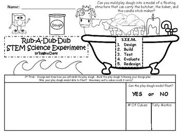 STEM Science, Technology, Engineering & Math Nursery Rhymes: Rub-A-Dub-Dub