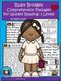 A+ Ruby Bridges Comprehension: Differentiated Guided Reading