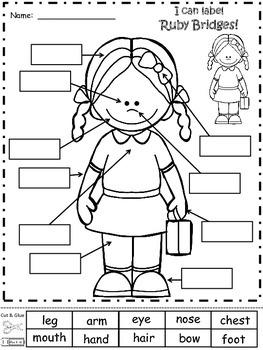 A+ Ruby Bridges Labels
