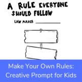 A Rule to Follow Positive Activity, Filler, or Stress Break
