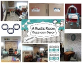 A Rustic Room: Editable Decor