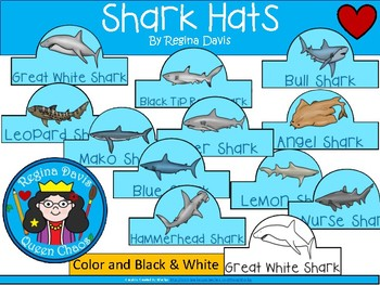 A+ SHARK Hats...Different Types Of Sharks