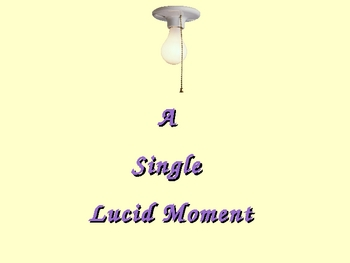 A SINGLE LUCID MOMENT - A New Approach to the Personal Narrative Essay