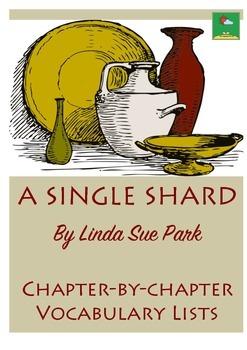 A SINGLE SHARD - VOCABULARY LISTS